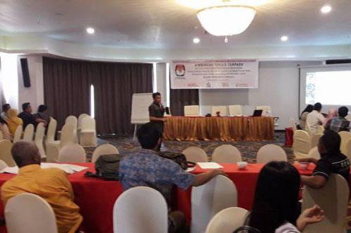 KPUD Bolmong Gelar Bimtek Rekapitulasi Pemungutan Suara