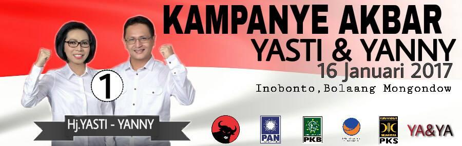 Sejumlah Tokoh Nasional Bakal Hadiri Kampanye Yasti-Yanni Besok