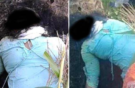 Geger Penemuan Mayat Wanita Setengah Bugil di Kebun