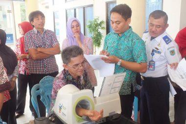 Seluruh Pejabat Bolmong Lakukan Tes Kesehatan
