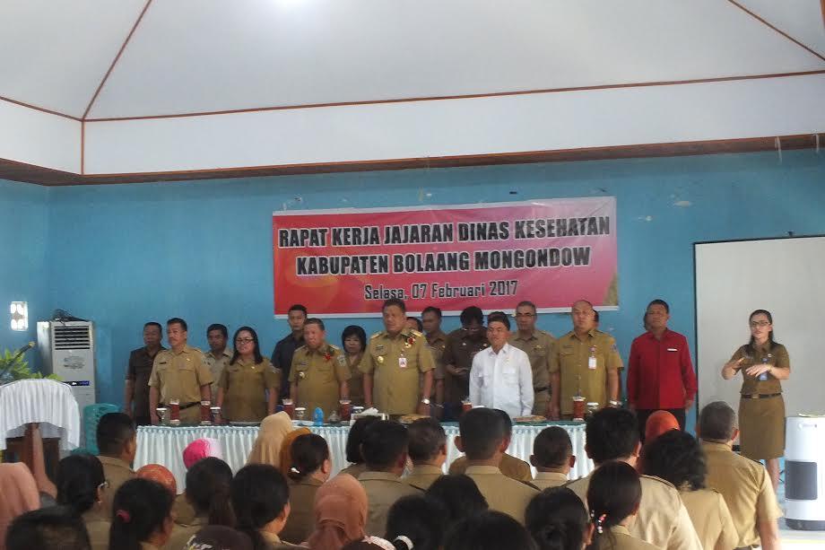 Gubernur Ingatkan Peran Tenaga Kesehatan Bolmong di Masyarakat
