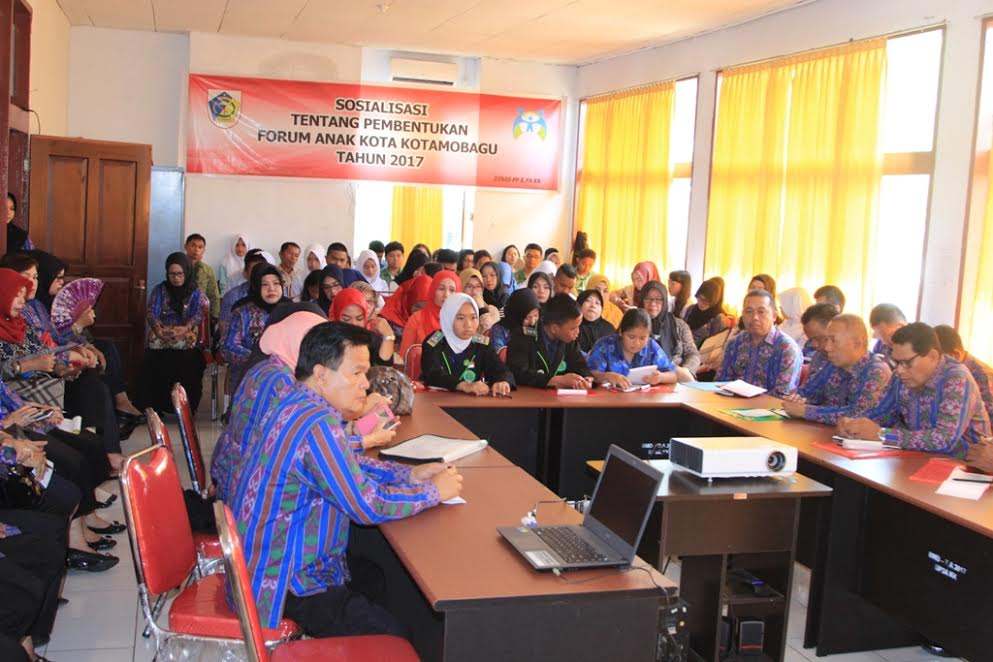Pembentukan Forum Anak Kotamobagu Digagas