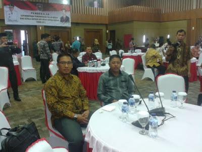 Wakil Bupati Boltim di sela-sela kegiatan pembekalan kepala daerah di Gedung Kemendagri Jakarta