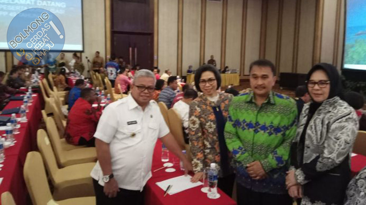 Bupati Bolmong Hadiri Rakor Penerimaan PPPK Bersama Kementerian PAN dan RB