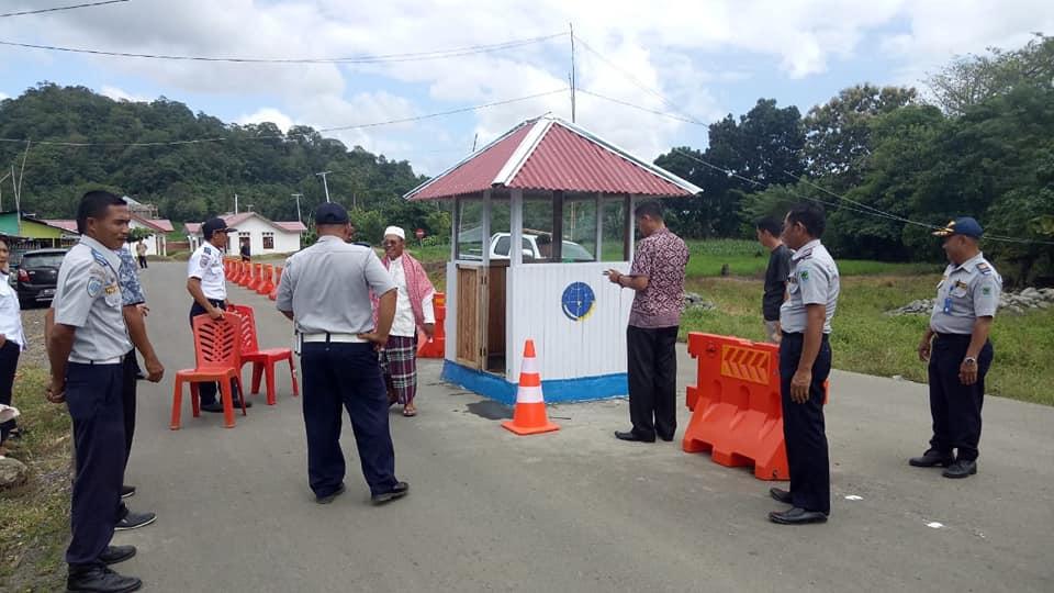 Pos Penagihan Retribusi Parkir di RSUD Datoe Binangkang Mulai Aktif