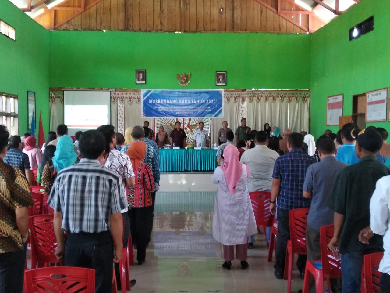 SKPD Bolmong Dampingi Pelaksanaan Musrenbang Kecamatan
