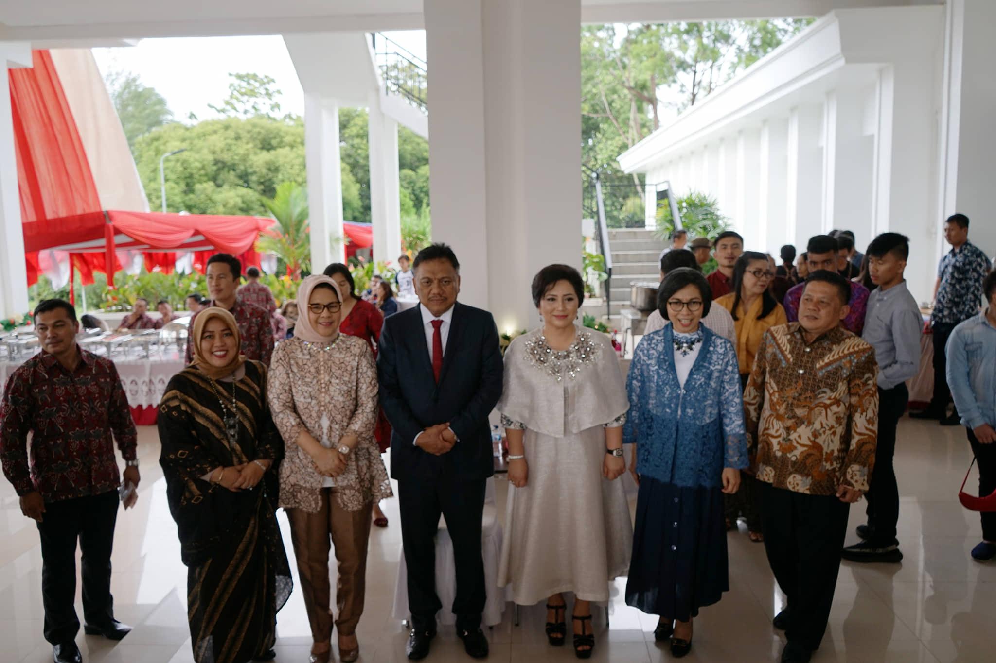 Walikota dan Wawali Kotamobagu Kunjungi Gubernur dan Wagub Sulawesi Utara