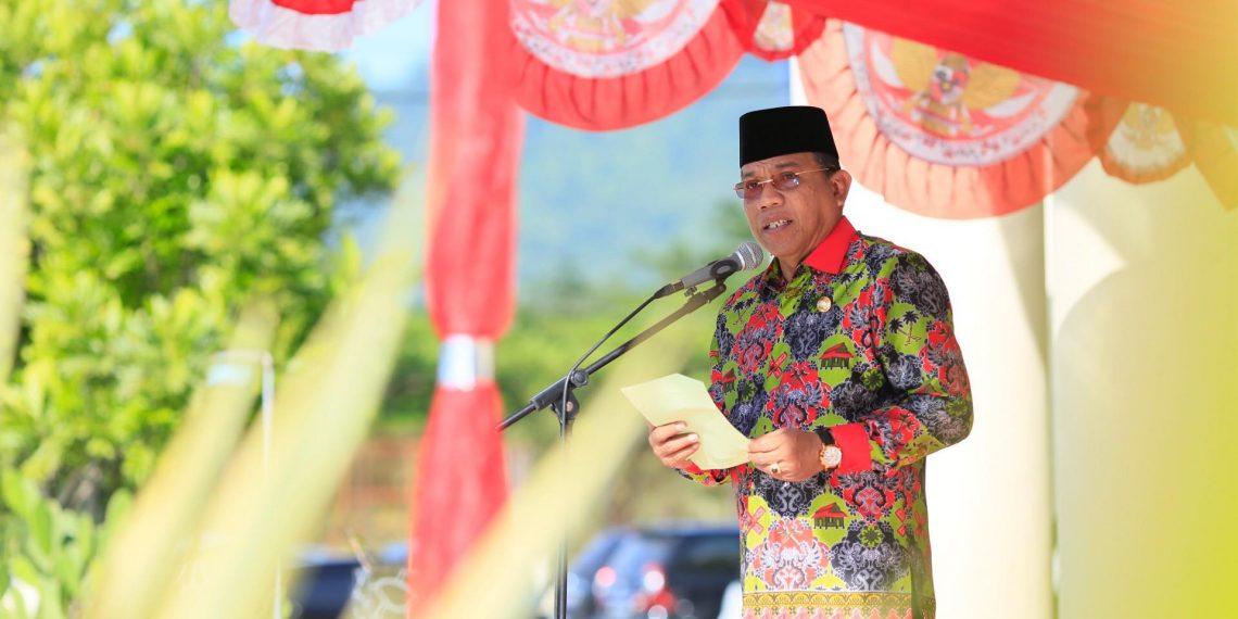 Apel Perdana, Bupati Lakukan Penanda Tanganan Pakta Integritas Bersama Pejabat Bolmut