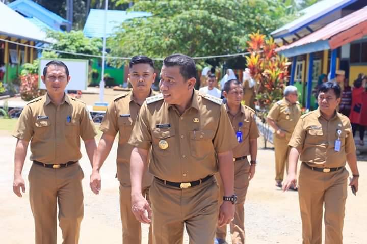 Inspeksi Lokasi Penilaian PHBS, Bupati Targetkan Bolmut Wakili Sulut di Tingkat Nasional