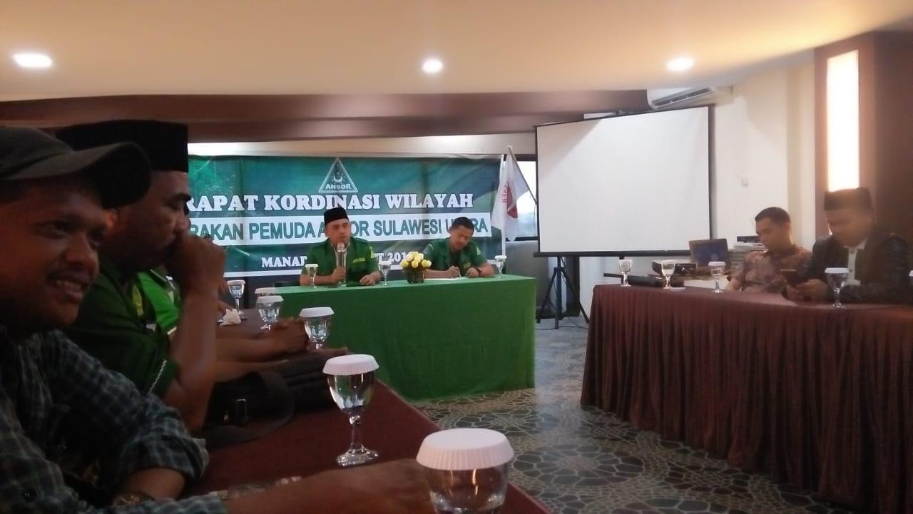 Kawal Pemilu Berkualitas, GP Ansor Sulut Bentuk Gerak Relasi Rabu Putih