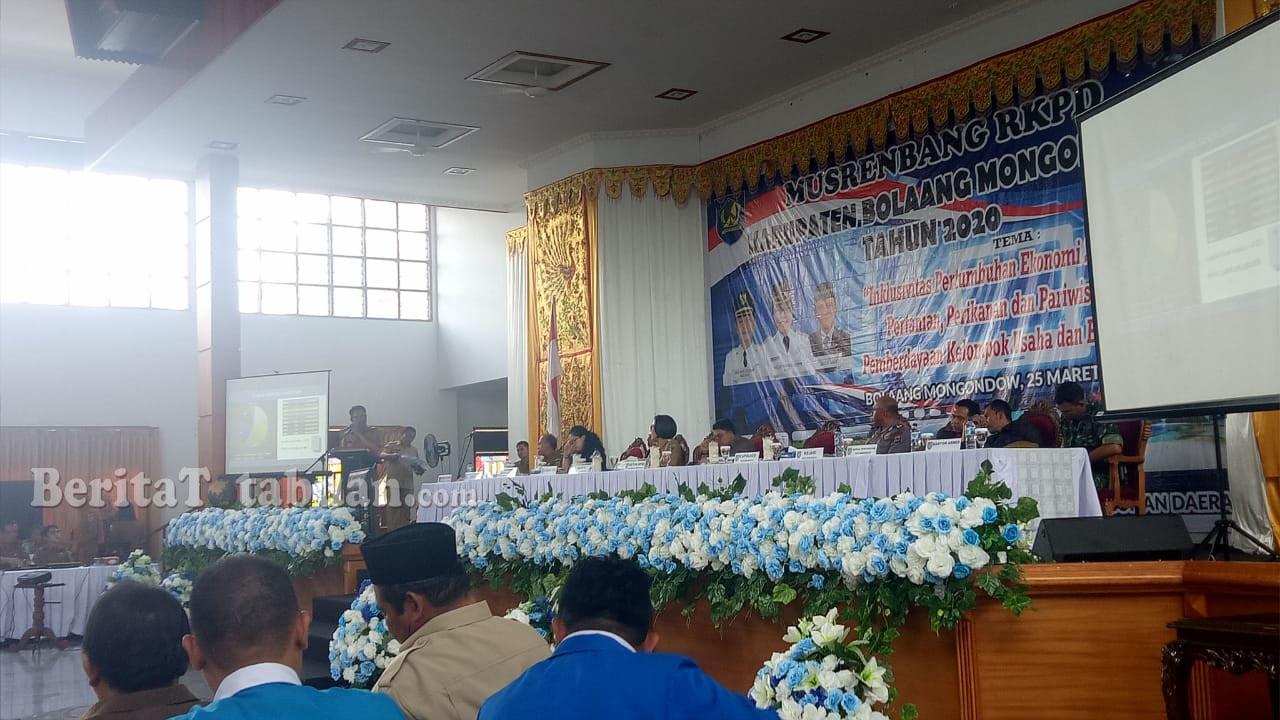 Usulan Warga Dalam Musrenbang Bolmong Capai 3.525