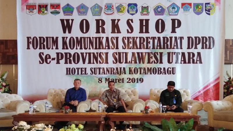 DPRD Kotamobagu Sukses Gelar Forkom Setwan se Sulawesi Utara