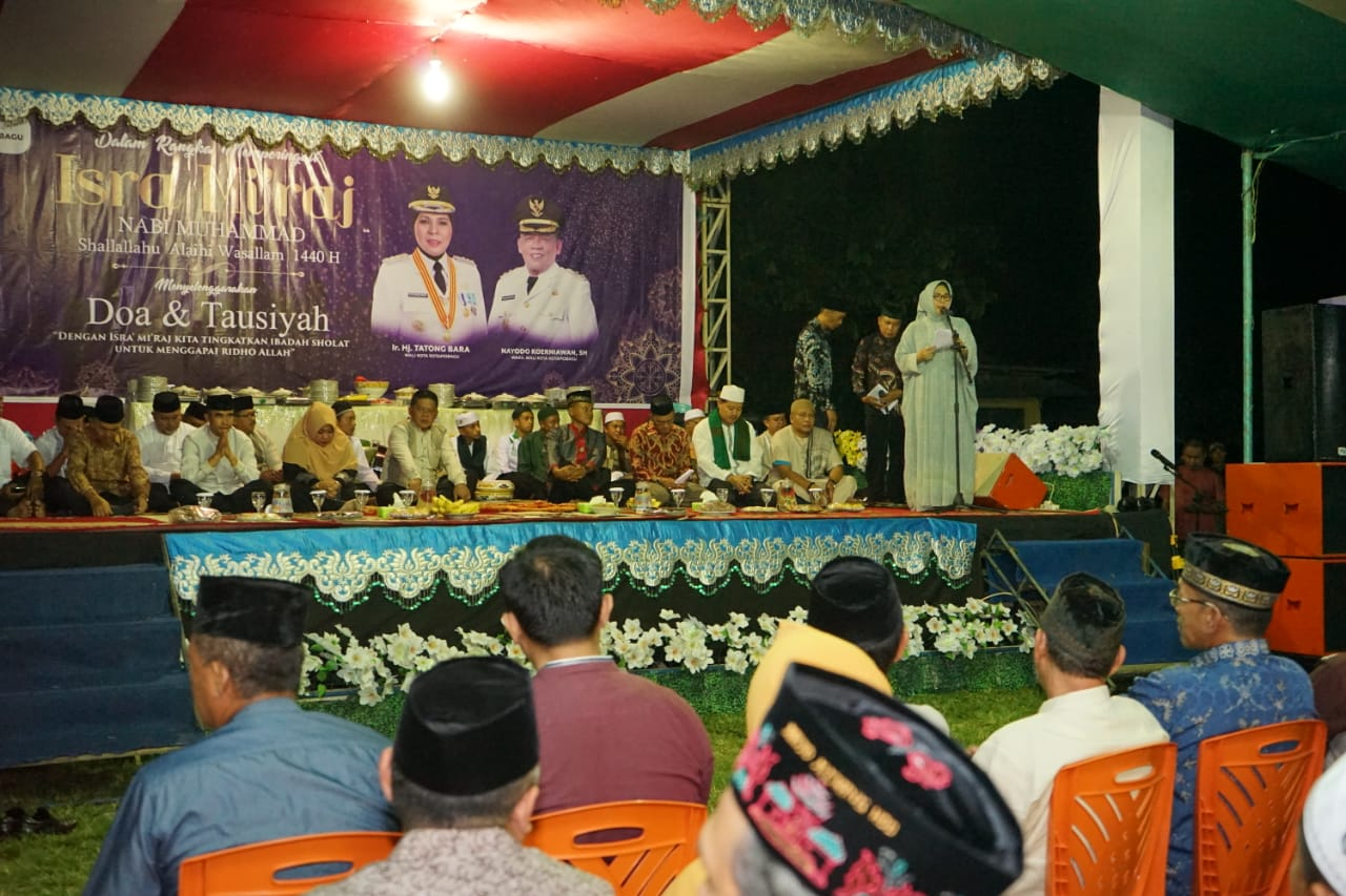 Peringatan Isra Mi'raj, Walikota Ajak Umat Muslim Teladani Rasulullah Muhammad SAW