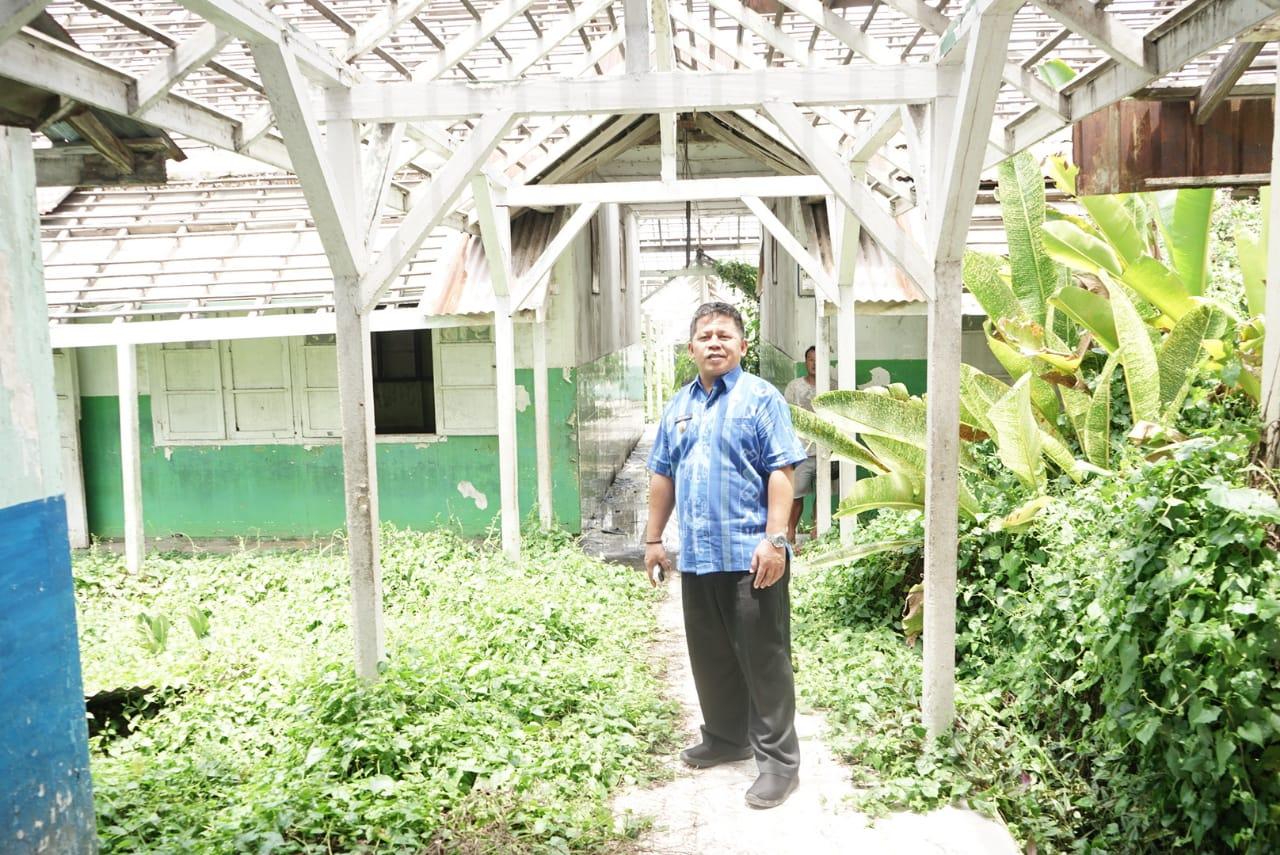 Wawali Kotamobagu Awasi Langsung Pembongkaran Bangunan Bekas RSUD Datoe Binangkang