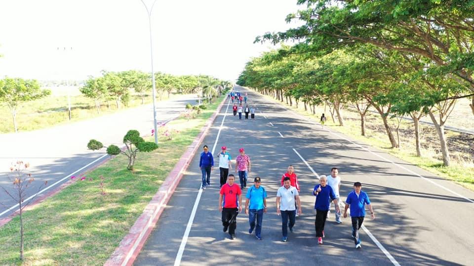 Dispora Bolmong Agendakan Kegiatan Olahraga Digelar Tiap Bulan