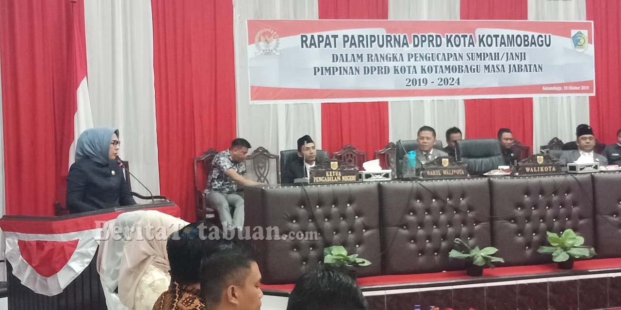 Tatong Bara Harap DPRD Kotamobagu Segera Bahas APBD 2020
