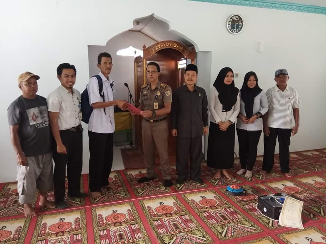 Arah Kiblat Masjid