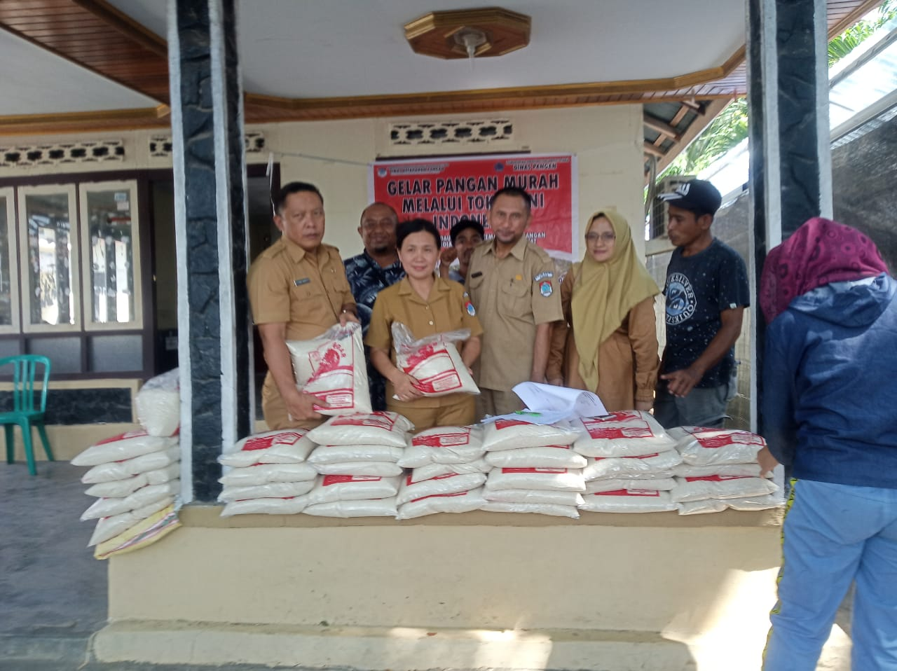 Bantuan Dari Pemerintah Pusat