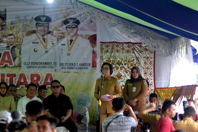 Kelompok Tani Bolmong Terima Bantuan Bibit dan Alsintan Dari Gubernur Sulut