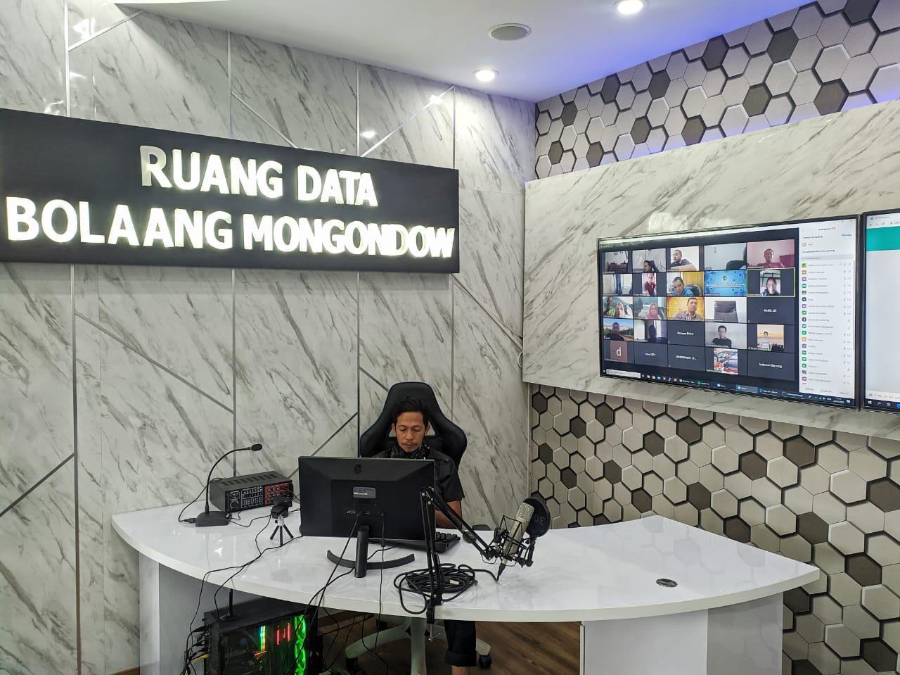 Perangkat Telekomunikasi Untuk Rapat Online Diuji Diskominfo Bolmong