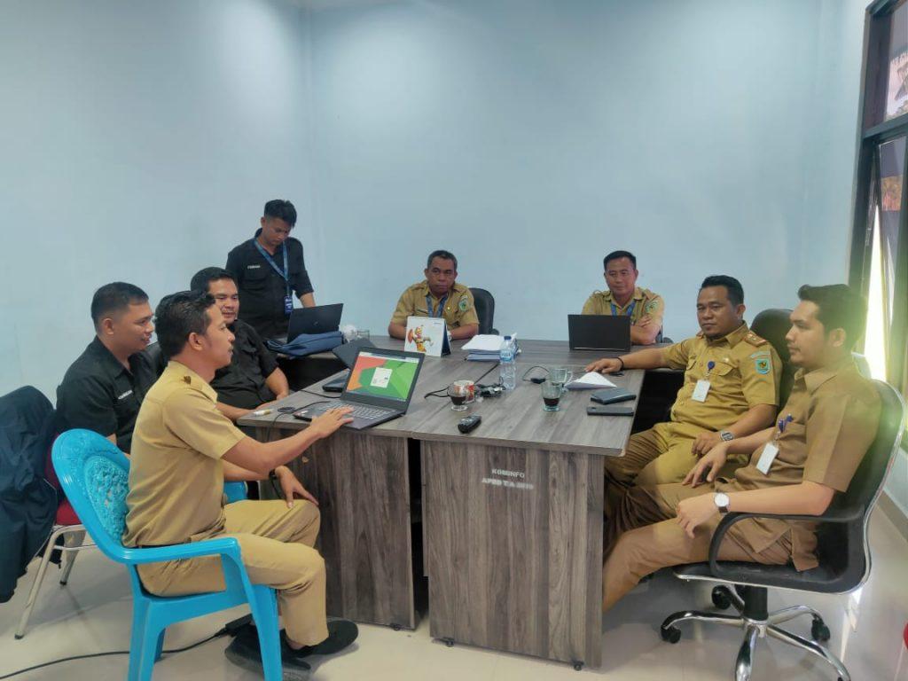 Kominfo dan BKPP Bolmong Siapkan Aplikasi Pemantau Kinerja ASN