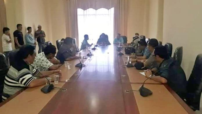 DPRD Bolmong Terima Aspirasi KMPPARL Dumoga Raya
