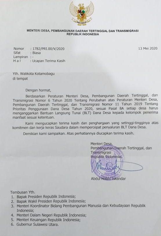 WalikotaTatong Bara