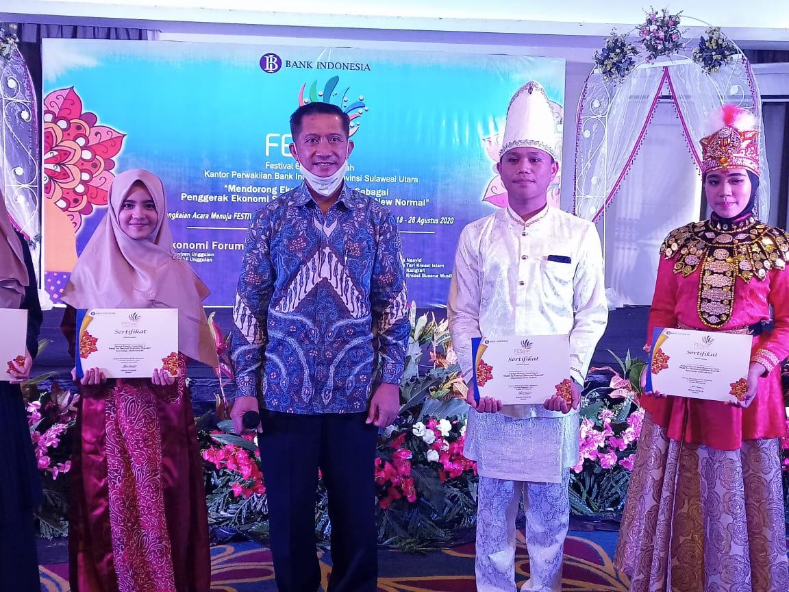 Bakat-bakat Bolmong Raya Berpeluang Berkompetisi di Level KTI Festival Ekonomi Syariah BI