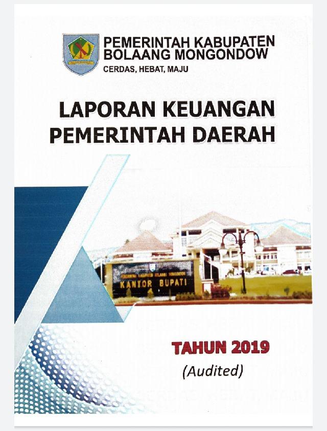 Pemkab Bolmong Sampaikan LKPD TA 2019
