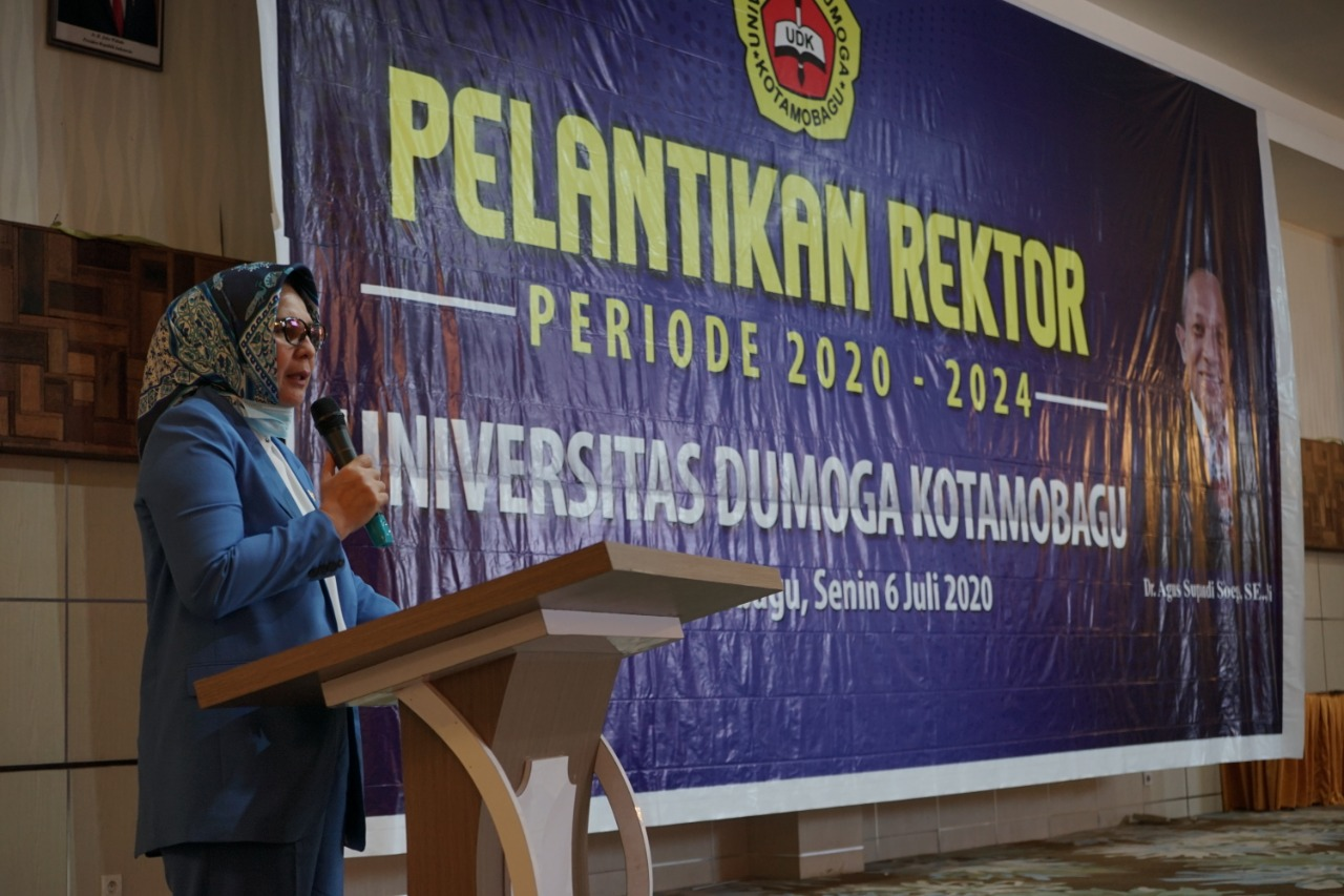 Pelantikan Rektor UDK