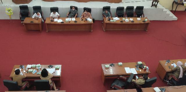 Bapemperda DPRD Bolmong Bahas Ranperda Sarang Burung Walet dan Ranperda IMB
