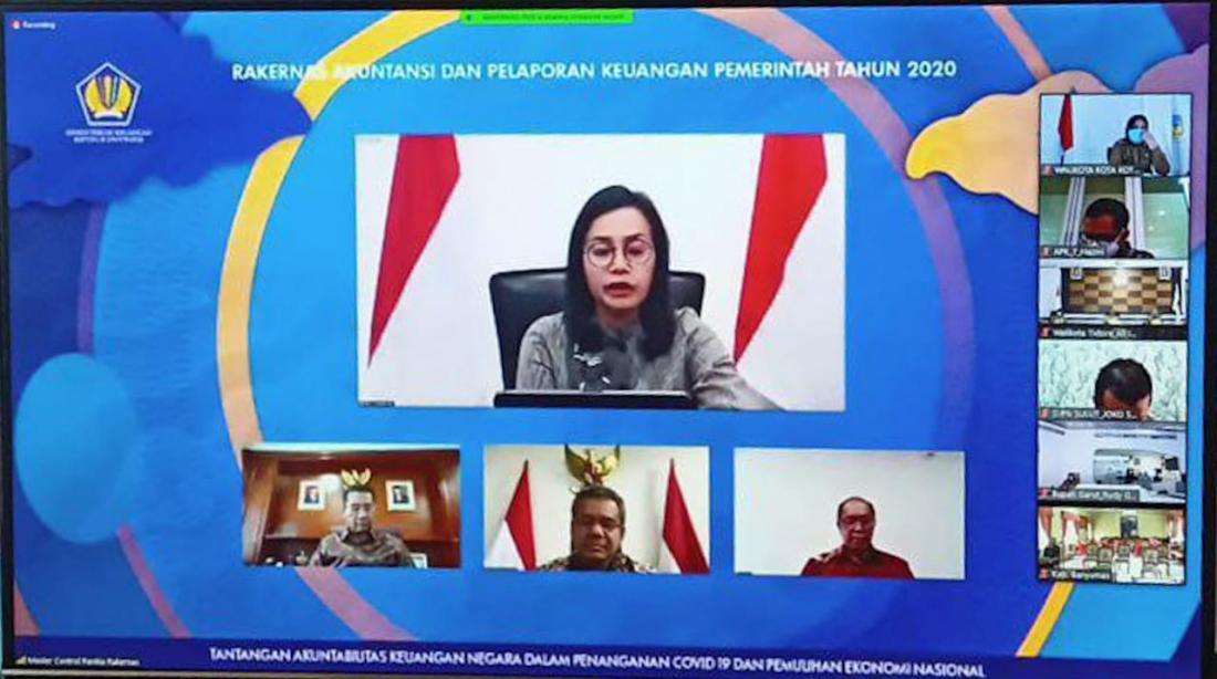 Rakernas Bersama Menteri Keuangan