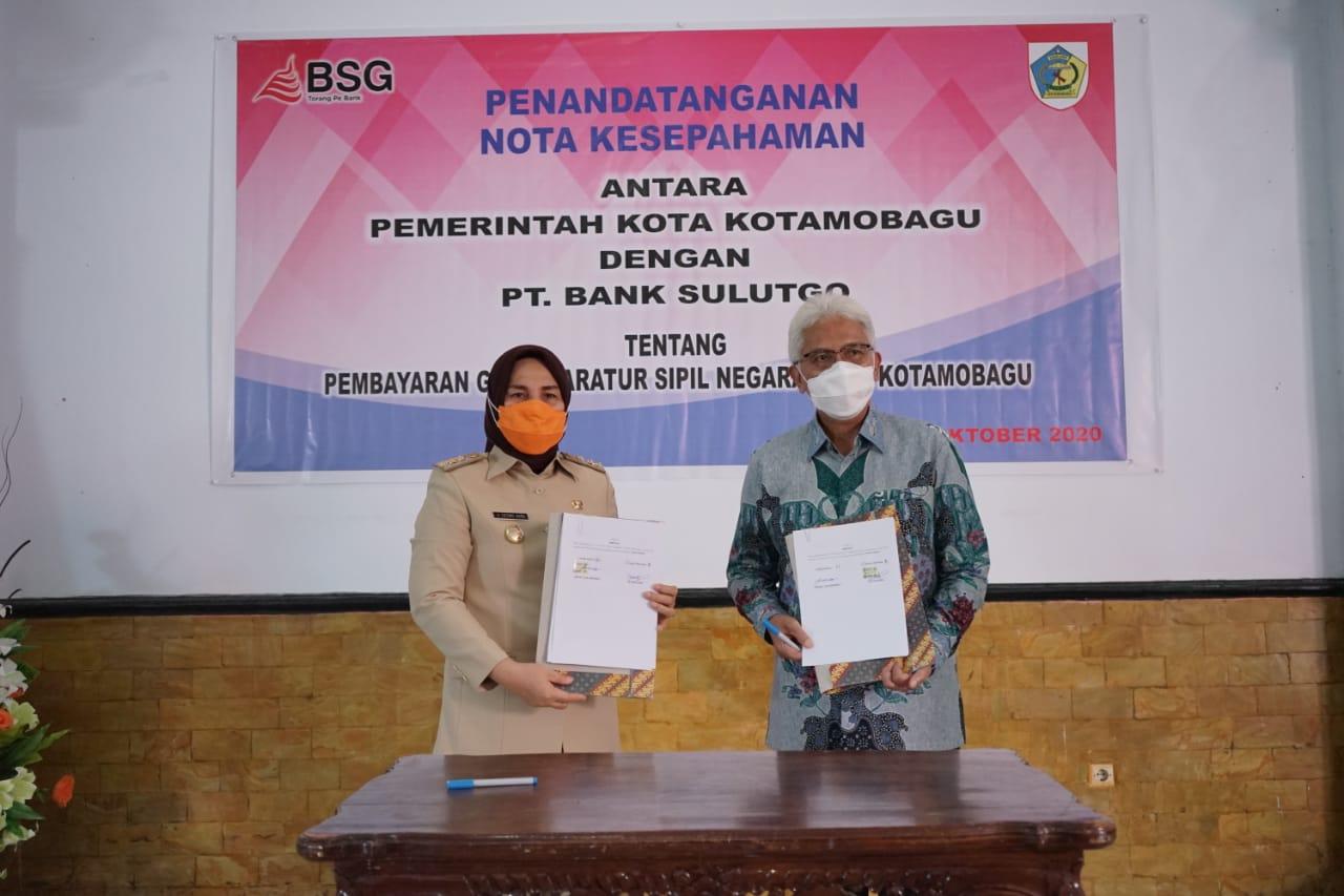 MoU Bersama Bank SulutGo
