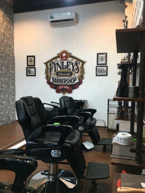 Finleys Barbershop Tempatnya