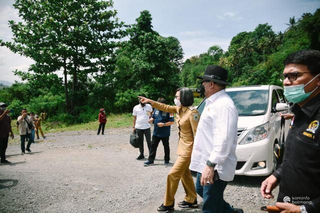 Kebersihan di Bolmong Mendapat Pujian Dari La Nyalla