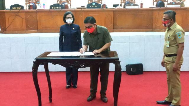 DPRD dan Pemkab Bolmong Sepakati KUA-PPAS APBD TA 2021