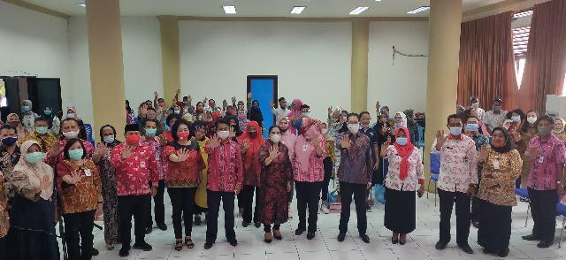 Kunjungi Bolmong, Kementerian PP-PA RI Sosialisasikan Pencegahan KDRT Sejak Dini