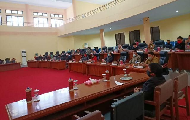 DPRD Bolmong Setujui Ranperda APBD-P TA 2020 Menjadi Perda
