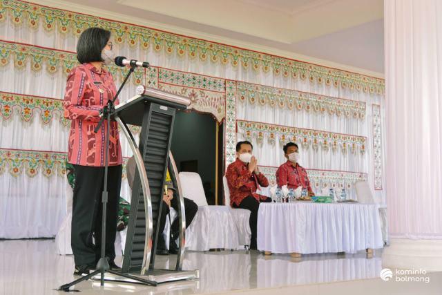 Terima Kunjungan Pjs Gubernur, Yasti Kembali Suarakan PBMR