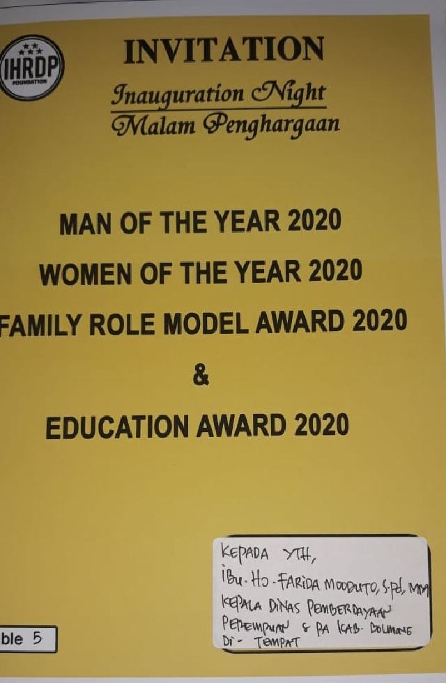 Farida Bakal Dianugerahi Penghargaan Women of the Year 2020