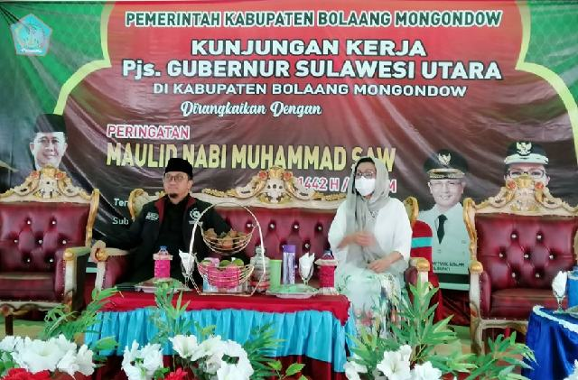 Yasti Hadiri Peringatan Maulid Nabi Muhammad SAW