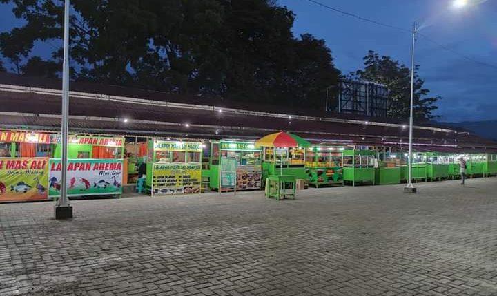 Pembangunan Pasar Kuliner