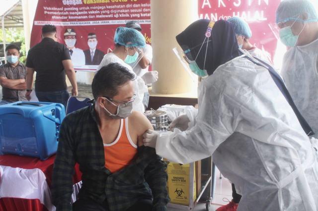 Pemkab Bolmong Gelar Pencanangan Vaksinasi Tahap Dua