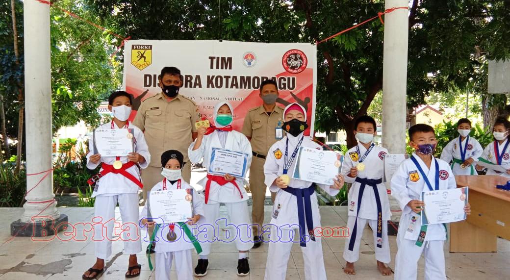Atlet Karate Asal Kotamobagu