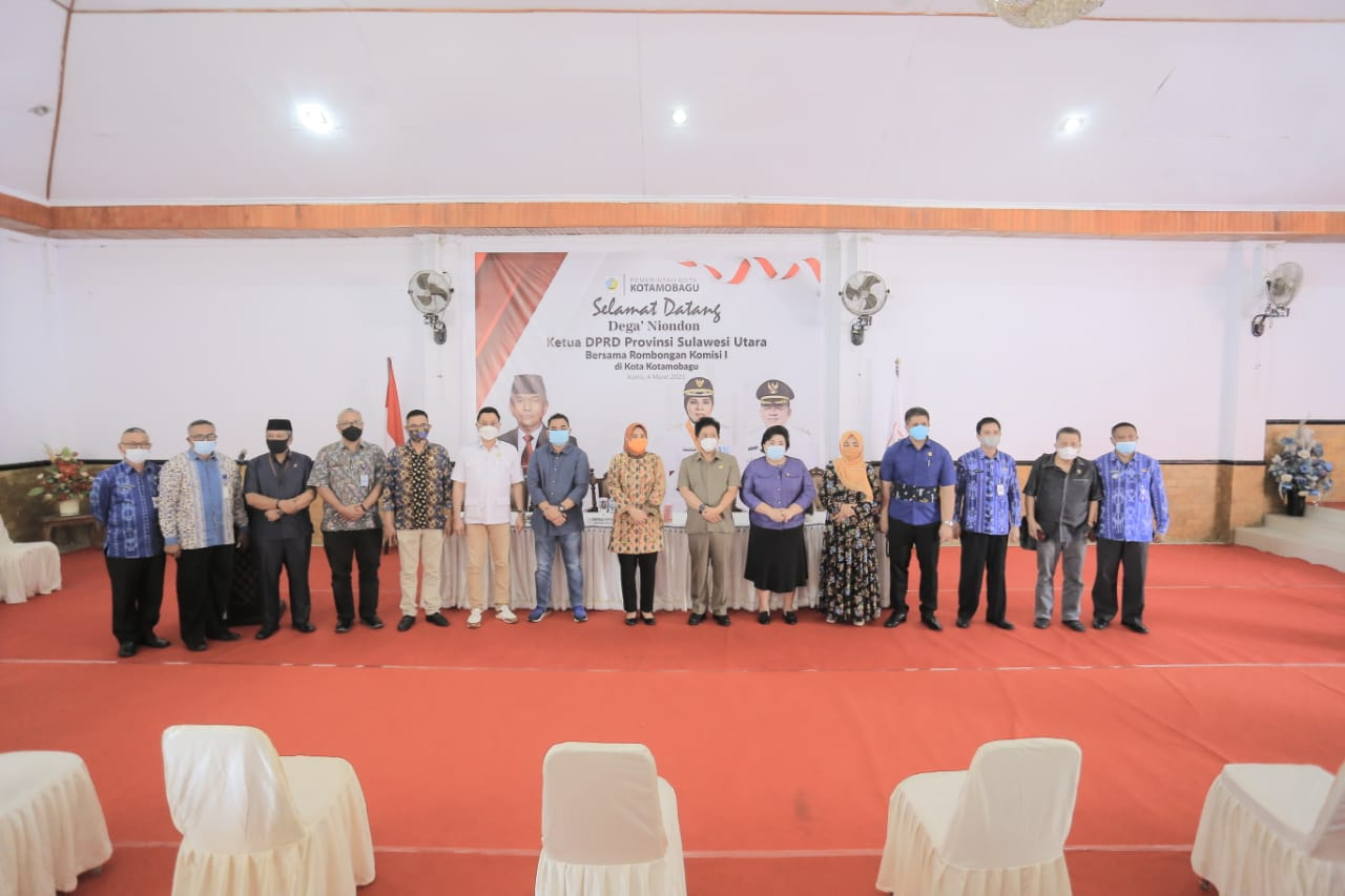 Kedatangan Ketua DPRD Sulawesi Utara