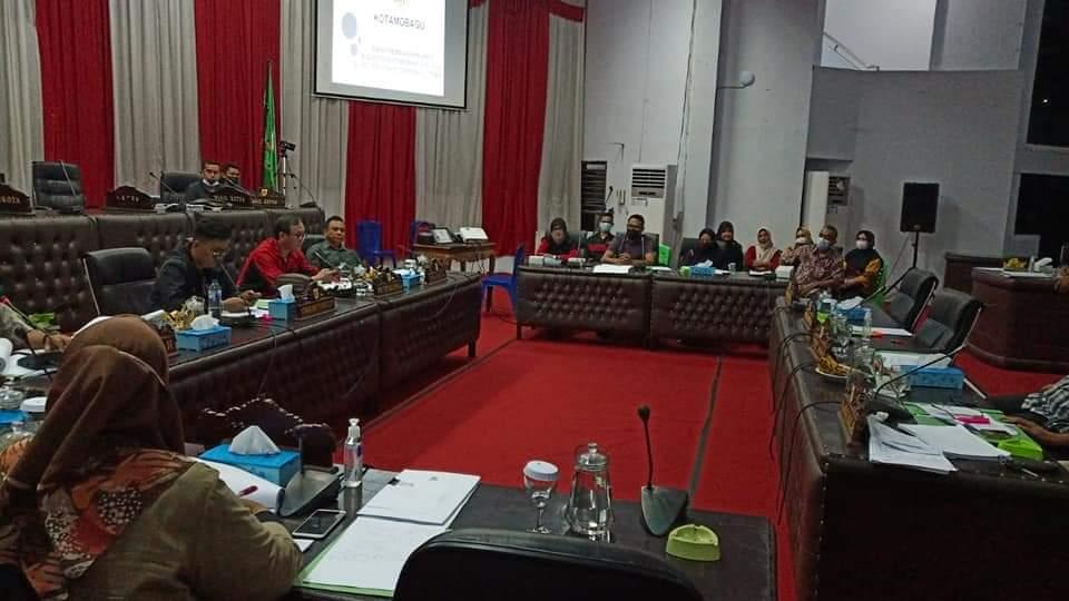 Pansus DPRD Kotamobagu