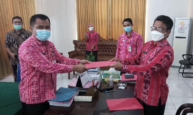 Pemkab Bolmong Resmi Tunjuk Plt Kepala OPD