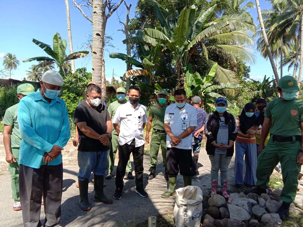 Pembangunan Saluran Irigasi