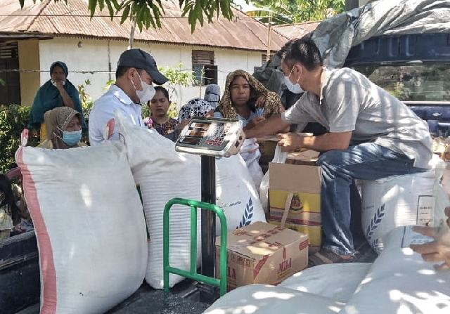 Jaga Kestabilan Harga Bapok, Pemkab Bolmong Gelar Operasi Pasar