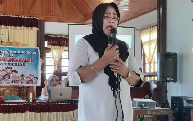 DP3A Bolmong Kembali Sosialisasikan UU Perlindungan Anak